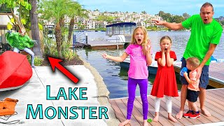 Pond Monster Found at Lake House!!!