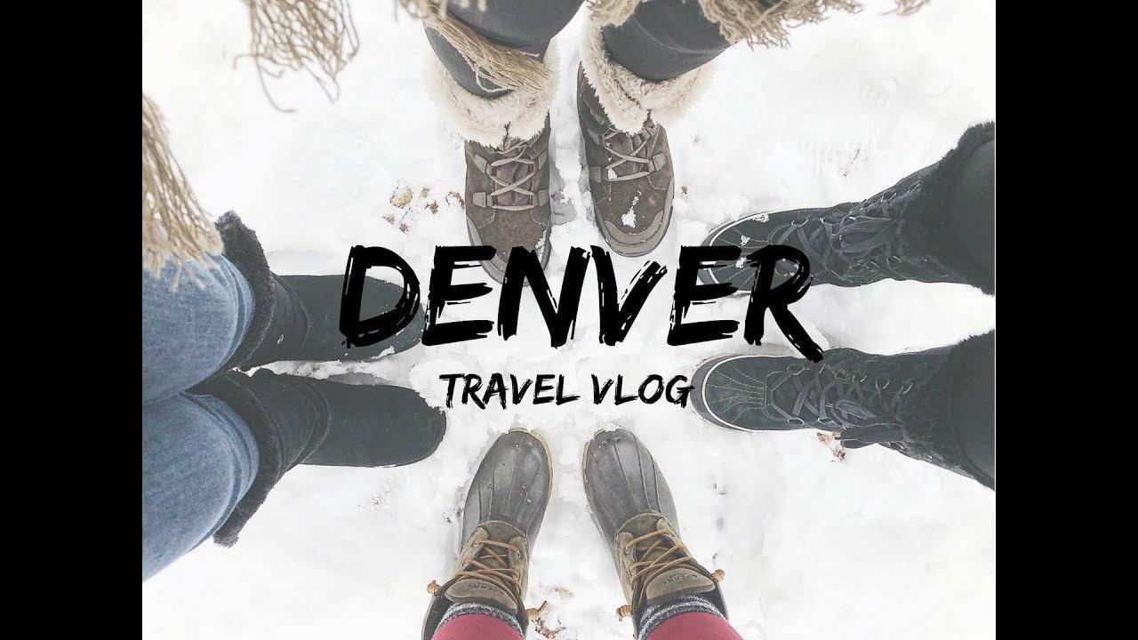 Travel Vlog   Denver, CO