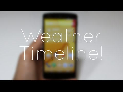 Weather Timeline App Review!