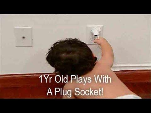 Baby Plays With A Plug Socket!   Supernanny