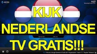 KODI - Kijk Nederlandse TV Gratis!!!