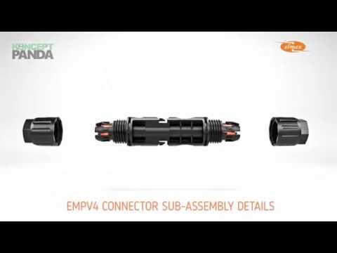 Elmex EMPV4 Photovoltaic Solar Connector