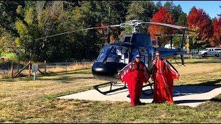 Epic Heli flight Crater Lake/Wingsuits/Island flight/Trent Palmer drone skills