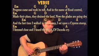 Seminole Wind (John Anderson) Fingerstyle Guitar Cover Lesson With Lyrics