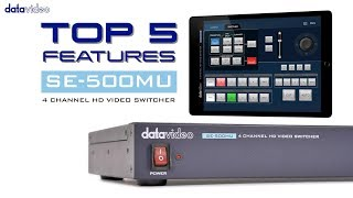 【Official】Top 5 Features of SE-500MU 4 Channel HD Video Switcher