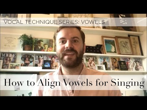 Vocal Technique: Exercise for Aligning Vowels