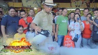 Matanglawin: Kuya Kim conducts a scientific experiment using an apple and liquid nitrogen
