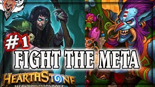 Ep1 Fight the Meta with Griftah and Snapjaw 🍀🎲 ~ Hearthstone Rastakhan's Rumble