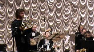 "Arkady Shilkloper and Vladimir Tolkachev Big Band plays ""Cobra"""