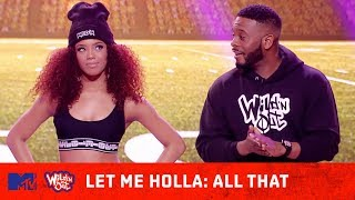 'All That' Cast Shocks the Crowd w/ Their Game  | Wild 'N Out | #LetMeHolla