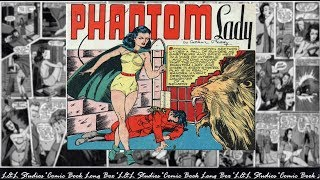 "Phantom Lady:  Police Comics #07, ""Murder At The Anglican Embassy"""