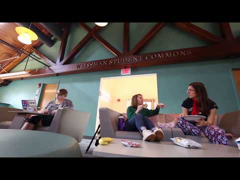 A Community Dedicated to Leadership: Weissman Student Commons