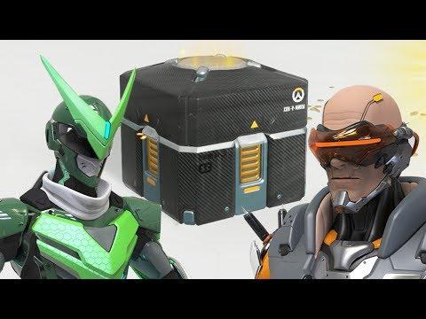 50 контейнеров в чеcть годовщины Overwatch