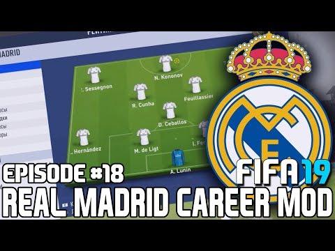 FIFA 19   Карьера тренера за Реал Мадрид [#18]   ТРАНСФЕРЫ БЛИЗКО / МОЛОДЫЕ ТАЛАНТЫ РЕАЛА