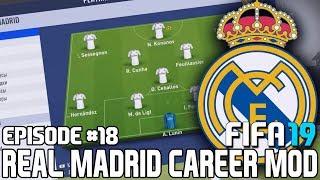 ТРАНСФЕРЫ БЛИЗКО / МОЛОДЫЕ ТАЛАНТЫ РЕАЛА | FIFA 19 | Карьера тренера за Реал Мадрид [#18]