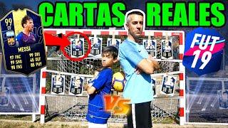 TIROS LIBRES VS CARTAS REALES DE TOTY FIFA 19 DRAFT
