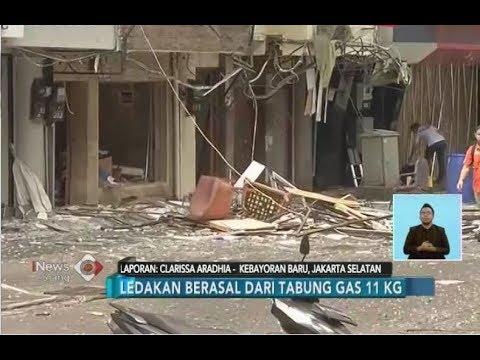 Ledakan di Kebayoran Baru Berasal dari Tabung Gas 11 Kg - iNews Siang 12/07