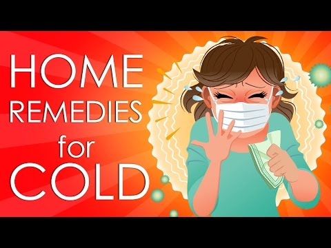 Video Treat Common Cold or Flu - Simple Home Remedies & Tricks