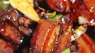 """The Scent of Clay- Rural Life - """"Hong Shao Rou"""" Red braised pork belly"""