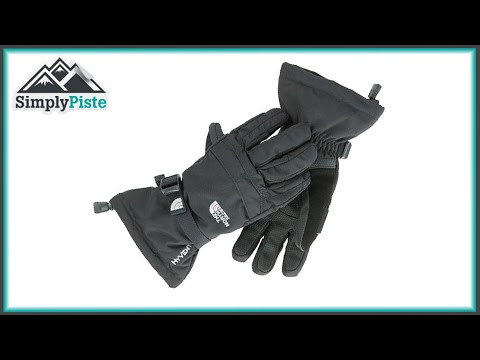 The North Face Mens Montana Glove – TNF Black – www.simplypiste.com
