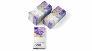 Switzerland Unveils the New 1,000-Franc