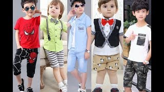 Latest Kids Boys Summer Casual Outfits 2020 | Children Casual Summer Wear Clothes | Baby Boy Shorts