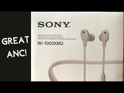 External Review Video C0jt7n7ZkSA for Sony WI-1000XM2 Neckband Headphones with Noise Cancellation