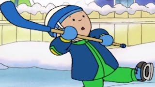 Caillou Goes On Holiday - English Full Episodes For Kids