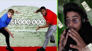 تحميل و مشاهدة ردة فعلي على مقطع راح يصدمك باليوتيوب ???? (آخر شخص يرفع يده ياخذ مليون دولار$) MP3