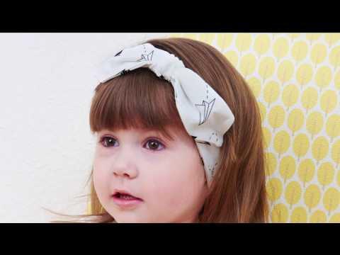 How-to: Stirnband für Babys nähen