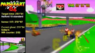 RRy 3lap: 2'51''94 & 2'51''87* (new overall WRs)