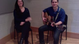 """Sky"" - Joshua Radin & Ingrid Michaelson cover with Christine Grosso"