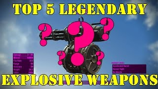 Fallout 4: Top 5 Explosive Weapons