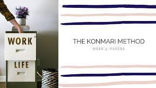 THE KONMARI METHOD: PAPERS | How to Organize and Declutter Your Papers