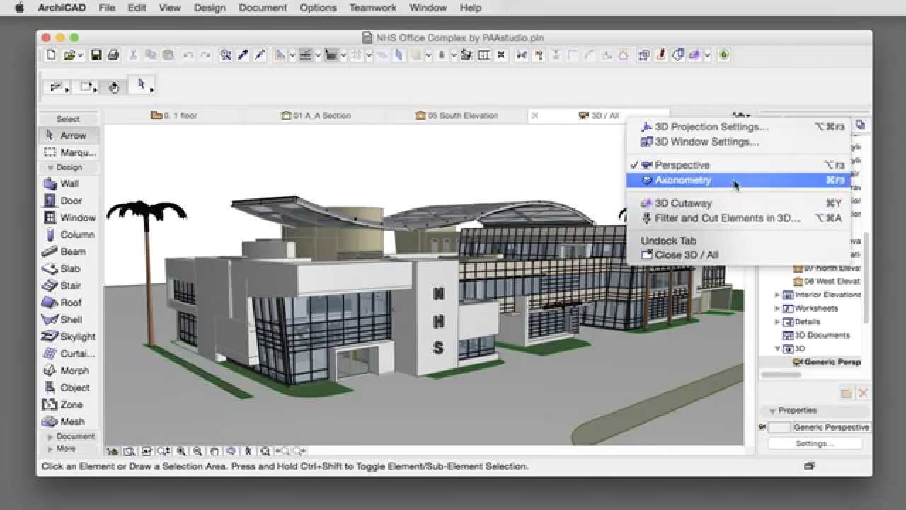 Graphisoft archicad 18 is free for students.