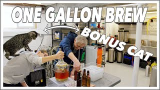 🍺 1 Gallon Of Beer -  Your First HomeBrew Recipe @BrewHouse Glen & Friends