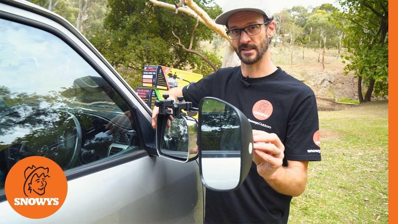 Aero 4 Towing Mirrors - Standard Glass