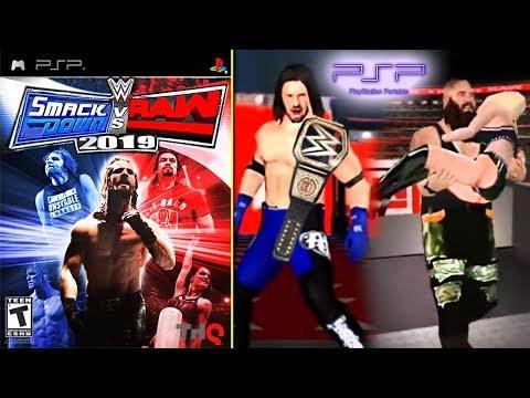 PSP Version Of WWE 2K19! (FAKE)