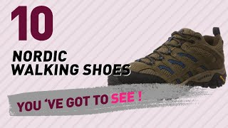 Nordic Walking Shoes, Top 10 Collection // Men's Shoes, UK 2017