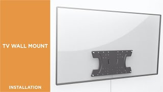 How to Install Tilt OLED TV Wall Mount-KM30-24T