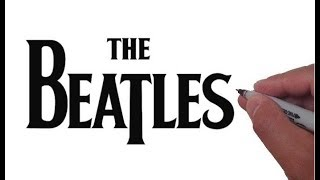 How to Draw the BEATLES Logo