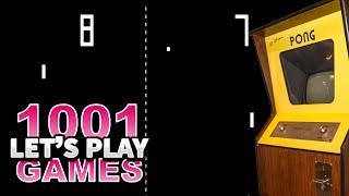 Pong (Arcade) - Let's Play 1001 Games - Episode 1