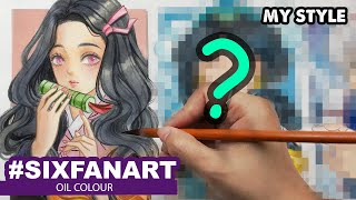 I DO #6FANARTCHALLENGE | Huta Chan L Semi Realistic Style