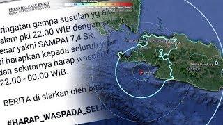 Gempa Susulan 7,4 SR pada Selasa Malam Disebut Hoax, Ini Penjelasan Resmi BMKG