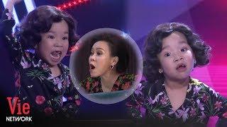 Bối Bối nhập vai thánh chửi Việt Hương thần sầu đốn tim dàn khách mời   Siêu Bất Ngờ Mùa 4 Tập 16