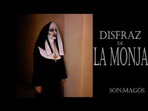 Disfraz de Monja para Halloween - Nun Costume for Halloween