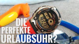 """Casio AE-2100W-4AVEF """"Coole Stranduhr für 30€!"""" Vorstellung, deutsch"""