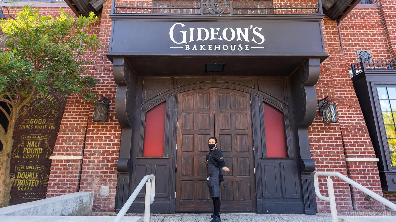 Inside Gideon's Bakehouse at Disney Springs