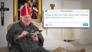 Tweets of the Rich & Famous: Pope Francis #10