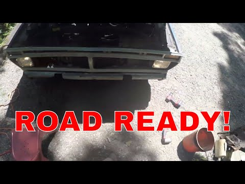 F100 to Crown Vic Frame Swap Ep 2 Wiring - River City